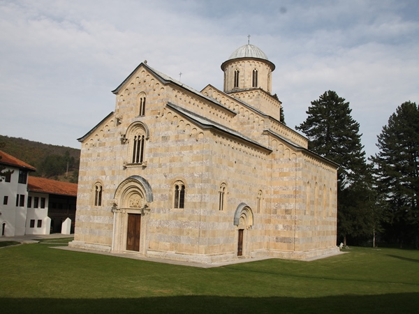 iglesia serbia decan